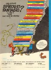 Verso de Spirou et Fantasio -13d80- Le voyageur du mésozoïque