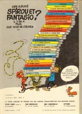Verso de Spirou et Fantasio -16d80- L'ombre du Z