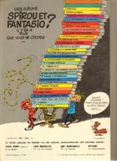 Verso de Spirou et Fantasio -19a1980- Panade à Champignac