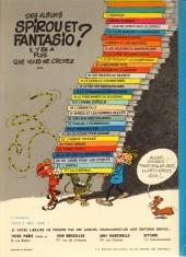 Verso de Spirou et Fantasio -25b77- Le gri-gri du Niokolo-Koba