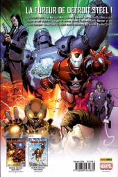 Verso de Invincible Iron Man (The) (Marvel Deluxe) -3- Stark Résistance