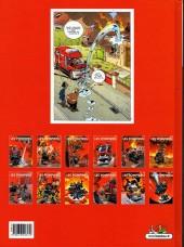 Verso de Les pompiers -7a- Graine de héros