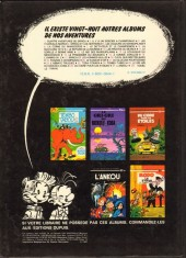 Verso de Spirou et Fantasio -28a1980- Kodo le tyran