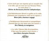 Verso de Illustré (Le Petit) (La Sirène / Soleil Productions / Elcy) - La Voile illustrée de A à Z