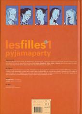 Verso de Les filles -1- Pyjama party