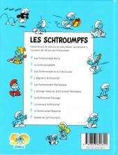 Verso de Les schtroumpfs (Édition 50 ans - minis) -4Mini- L'apprenti schtroumpf