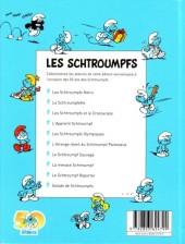 Verso de Les schtroumpfs (Édition 50 ans - minis) -7Mini- Le schtroumpf sauvage