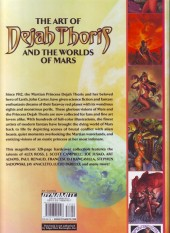 Verso de Art of Dejah Thoris and the Worlds of Mars (The) (2013) - The Art Of Dejah Thoris and the Worlds of Mars