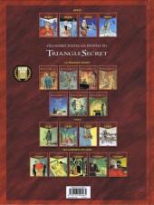Verso de Le triangle secret - Hertz -4- L'Ombre de l'Aigle