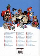 Verso de Spirou et Fantasio -42Ind- Spirou et Fantasio à Moscou