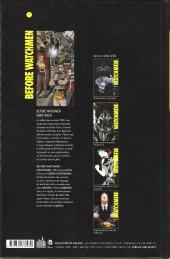 Verso de Before Watchmen -INT01- Minutemen