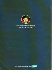 Verso de Adèle Blanc-Sec (Les Aventures Extraordinaires d') -1Pub- Adèle et la Bête