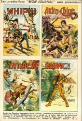 Verso de Capt'ain Swing! (1re série) -52- La justice des loups