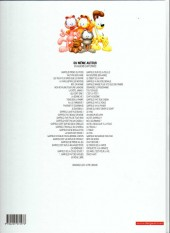 Verso de Garfield -46Ind2014- Moi, gourmand ?