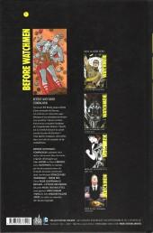 Verso de Before Watchmen -INT02- Compagnon
