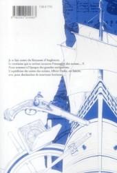 Verso de Le comte des pirates -1- Tome 1