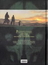 Verso de La chronique des Immortels -43- Le Vampyre - Première Partie