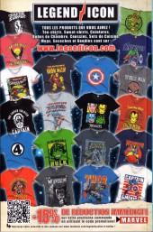 Verso de Avengers (Marvel France - 2013) -8- Message reçu