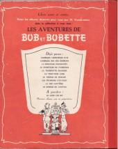 Verso de Bob et Bobette -9a- La Nef Fantôme