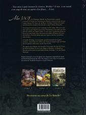 Verso de La bataille -3- Tome 3 / 3
