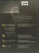 Verso de L'ancêtre programmé -2- Le temps de la conscience