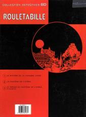 Verso de Rouletabille (Duchâteau/Swysen) -2- Le fantôme de l'opéra