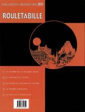 Verso de Rouletabille (Duchâteau/Swysen) -5- La machine à assassiner