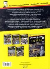 Verso de L'histoire de France pour les nuls -5 - De Louis XI à François 1er