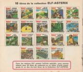 Verso de Astérix (Elf) -2- Astérix, Le grand saut