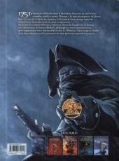 Verso de Le siècle des ombres -5- La trahison