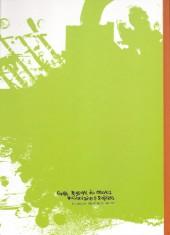 Verso de Concours universitaire national de la bande dessinée -6- 2011 - Fantasmes
