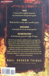 Verso de Rail: Broken Things (2001) - Rail: Broken Things