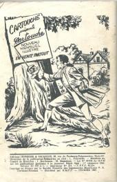 Verso de Robin des bois (Jeunesse et vacances) -6- Robin des bois