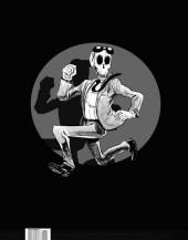 Verso de Yo-Yo post mortem -HS- 100 dessins d'humour en noir et blanc