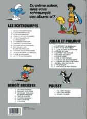 Verso de Johan et Pirlouit -9c1994- La flûte à six Schtroumpfs