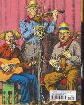 Verso de R. Crumb's Heroes of blues, jazz & country