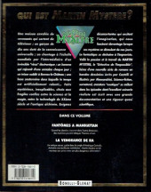 Verso de Martin Mystère -2- Fantômes à Manhattan