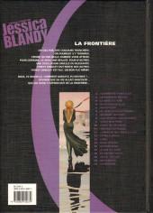 Verso de Jessica Blandy -21- La Frontière