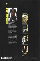 Verso de Before Watchmen -INT03- Rorschach