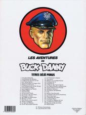 Verso de Buck Danny -43- Le feu du ciel