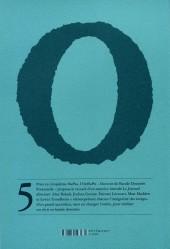 Verso de Oubapo -5- Le journal directeur