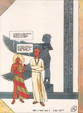 Verso de La nuit des archées - Une aventure d'Anaelle et Myrios