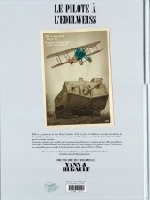Verso de Le pilote à l'Edelweiss -2a- Sidonie