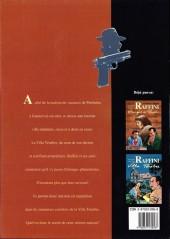 Verso de Les enquêtes du commissaire Raffini -3b- Villa ténèbre