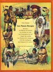 Verso de Les peaux-rouges -7- Les chasseurs de vautours
