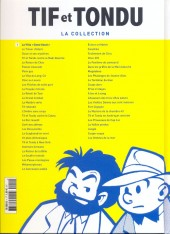 Verso de Tif et Tondu - La collection (Hachette)  -1- La Villa