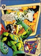 Verso de Superman contre Shazam (Éditions L'héritage) - Superman contre Shazam