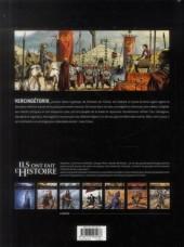 Verso de Ils ont fait l'Histoire -2- Vercingétorix