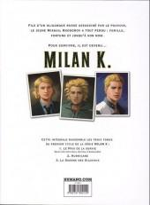 Verso de Milan K. -INT1- Premier cycle - intégrale
