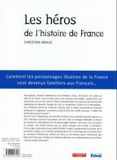 Verso de Les héros de l'histoire de France - Comment les personnages illustres de la France sont devenus familiers aux Français...